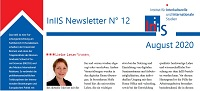 Titelbild InIIS-Newsletter No. 12